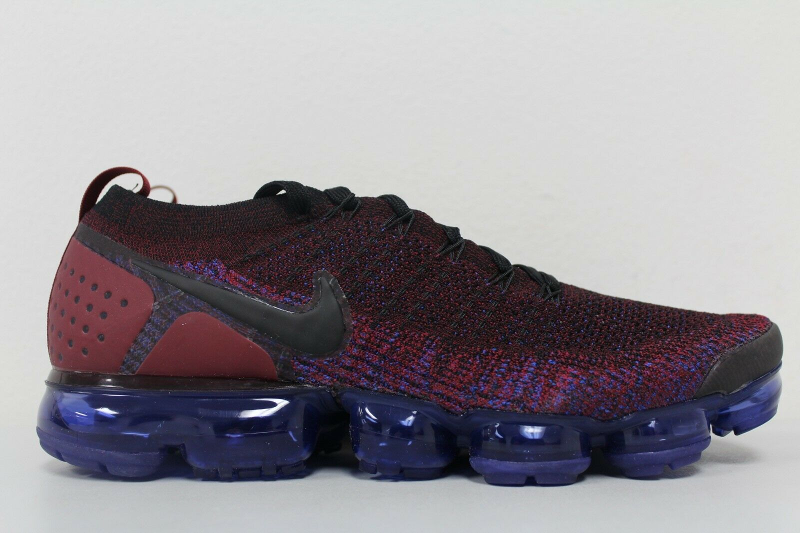 97d48caec6 Nike Air Vapormax Flyknit 2.0 Team Red Racer bluee Black 942842-006 Size  11.5