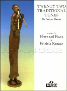 22 Traditional Tunes Pour Flûte Traversière Partitions Livre/piano Classique Patricia Ramsay-afficher Le Titre D'origine Cool En éTé Et Chaud En Hiver