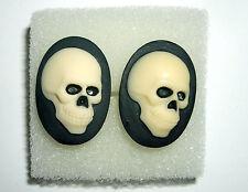 Totenkopf Manschettenknöpfe Rockabilly Skull Biker KULT Cufflink