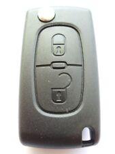Reemplazo De 2 Botones Flip clave Funda Para Citroen C2 C3 Berlingo remoto clave