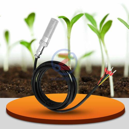 SHT20 Copper Soil Temperature Humidity Moisture Sensor Temperature  Resistance