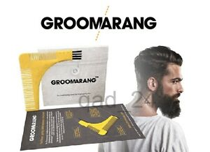 Admirable Groomarang Beard Symmetry Styling Ampamp Shaping Template Comb Short Hairstyles For Black Women Fulllsitofus