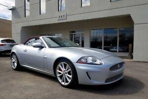 2011 Jaguar XK XKR SUPERCHARGED, Jamais Accidentée! Bas Km! Comme une neuve! Pneus neufs, Entretien chez Jaguar.