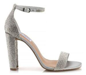 low priced 899e8 c778f Dettagli su ORIGINALI STEVE MADDEN FRANKY CRYSTAL Sandali scarpe donna  tacchi Cristalli