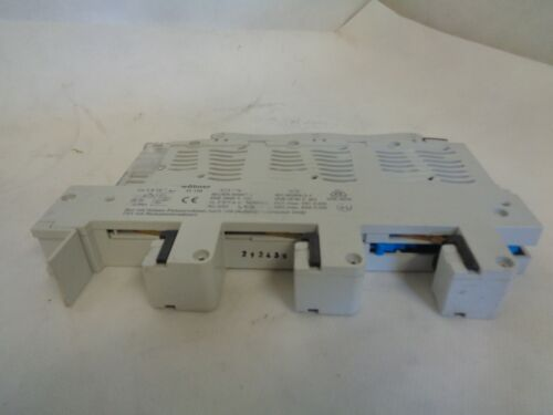 WOHNER 31-158 SPL-D0-AC-22 63A 63AMP BUS-MOUNTED FUSE HOLDER