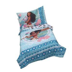 Disney Moana Aqua Toddler Bedding Set (4pc) | eBay