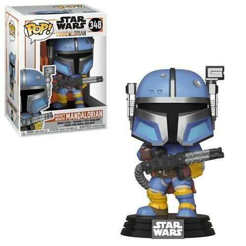 Funko Pop! Star Wars: The Mandalorian - Heavy Infantry Mandalorian (#348)