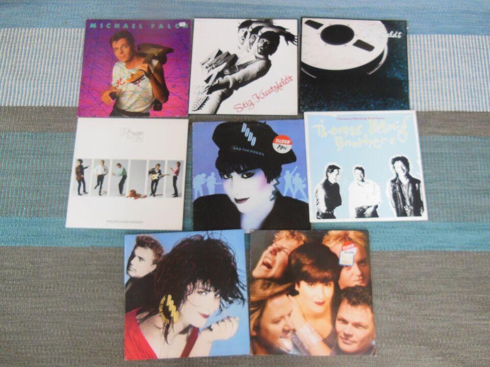 LP, Dansk fra 1980`erne, Forskellige