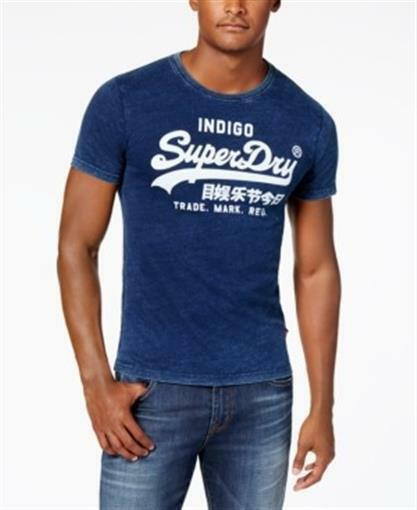 superdry t shirt blue