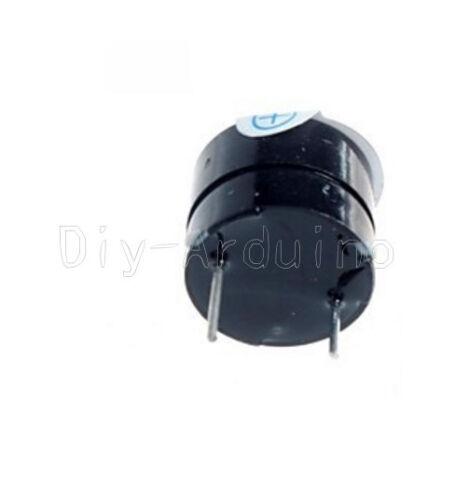 10pcs 12MM 5V Active Buzzer Magnetic Long Continous Beep Tone Alarm Ringer