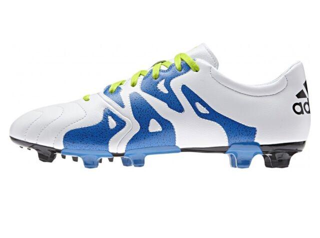 cfd75e502a9b adidas X 15.3 Fg ag Leather Football BOOTS 11