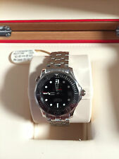 """BRAND NEW Men's OMEGA CO-AXIAL Seamaster """"JAMES BOND"""" 300M Watch - LATEST MODEL!"""