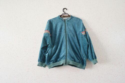 Vintage 90s Green Adidas Tracksuit Jacket