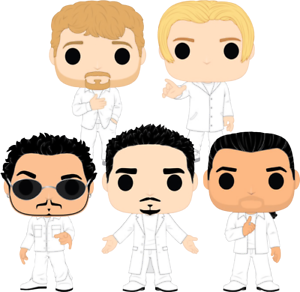 FUNKO POP  Backstreet Boys ( SET OF 5)