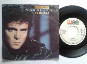 Nino-De-Angelo-Samuraj-7-034-Vinyl-Single-1989-mit-Schutzhuelle
