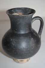 ANCIENT GREEK HELLENISTIC  POTTERY OLPE MUG 3rd CENTURY BC