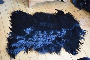 Image Is Loading Genuine Luxury Mongolian Goatskin Rug Real Fur Decor