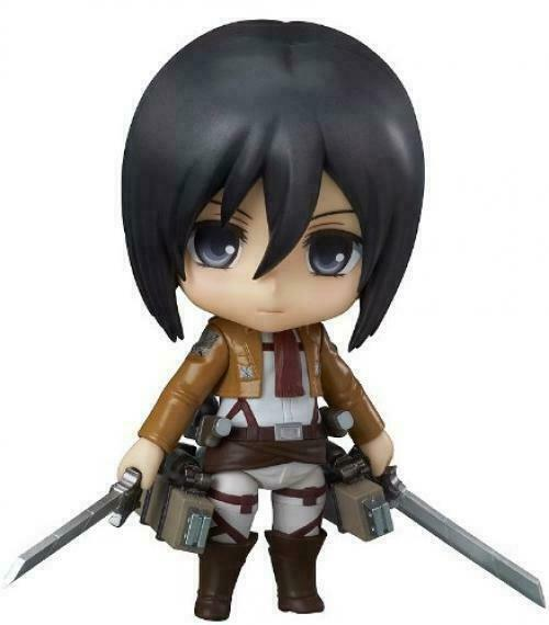 Anime Attack On Titan Action Figure Nendoroid Mini Figma Doll Collection Kid Toy