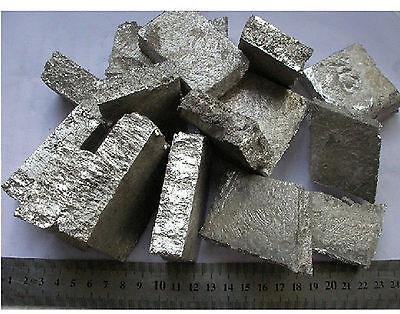 200g (7 oz) High Purity 99.9% Mg Magnesium Metal Sample Block #EFZ-1