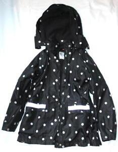 Pepperts-Girls-Polka-Dot-Rain-Coat-Age-6-8-Years-Used