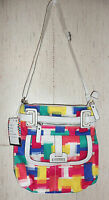 Tyler Rodan $79 berlin Cross Body Rainbow Patchwork Purse