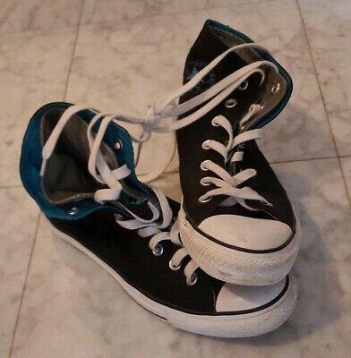 Converse Chucks all star (schwarz türkis) Größe 39 | eBay