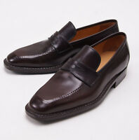 $1295 Sutor Mantellassi Blind-stitched Norwegian Welt Loafers Shoes Us 8 D on sale