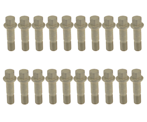 Set of 20 Wheel Lug Bolts Studs Brand New for Mercedes Benz