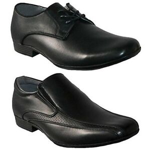 mens groundwork new slip on lace up smart formal casual