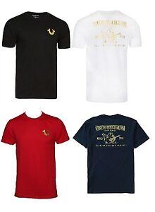 321095b8 New! True Religion Brand Jeans Men's Gold Buddha Logo Horseshoe Tee ...