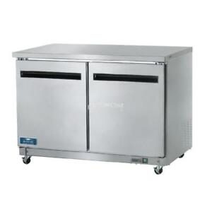 image is loading arctic air auc48r commercial undercounter refrigerator double two - Commercial Undercounter Refrigerator