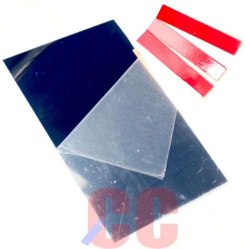 Universal Mirror Repair Kit Broken Wing Mirror Rear View Easy Fix Self Adhesive