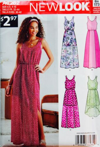 Simplicity Maxi Dress Sew Pattern ~ Casual Prom Sun Dress 3-28W UC U PICK