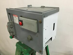 Square d model 6 motor control center bucket 1 1 2 hp for Square d motor control center
