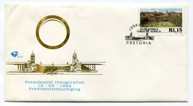 South Africa Nelson Mandela Presidential Inauguration 1994 FDC Union Buildings