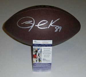 RAIDERS-Jared-Cook-signed-football-w-89-AUTO-JSA-COA-Autographed-Oakland