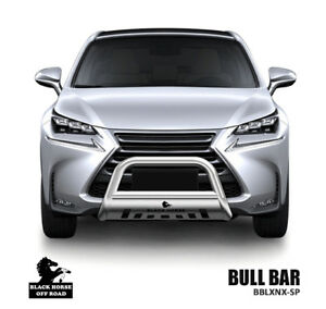 Image Is Loading Black Horse 2017 2019 Lexus Nx Stainless Bull