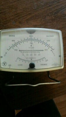 CI648 Vintage Barometer with Thermometer from USSR