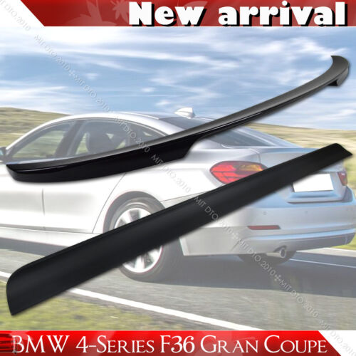 Painted Color BMW F36 Gran Coupe Performance Trunk Spoiler /& Roof Lip Spoiler