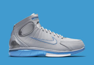 Details about Nike Air Zoom Huarache 2K4 size 10 or 11 wolf grey university blue Kobe