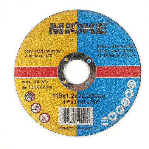 "115mm 4.5/"" Resin Cutting Discs Metal Grinding Cut Off Tool for Angle Grinder 1Pc"
