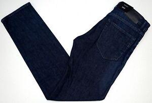 NWT-155-HUGO-BOSS-Dark-Blue-JEANS-Regular-Fit-Mens-Size-30-32-Maine-Stretch-NEW