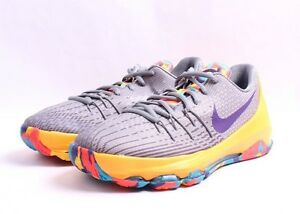 size 40 5dd79 65d7d Image is loading Nike-KD-8-GS-768867-050-Lagoon-Wolf-