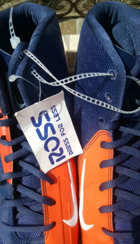 Nike Cleats Blue 5 white Men's Pro Vapor Mid 14 Football Us Orangeamp; Blue Size ZuTXPkiO