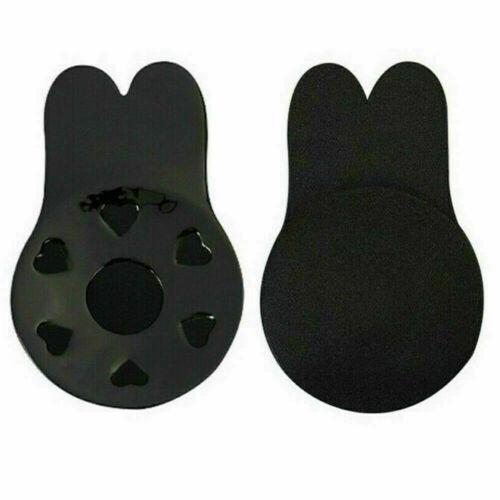 Invisible Silicone Breast Pads Lift Up Boob Nipple Cover Tape Sticker Rabbit Bra