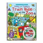 Track Jigsaw Book - Timmy and Tabby's Train Ride at the Zoo by North Parade Publishing (Novelty book, 2014)