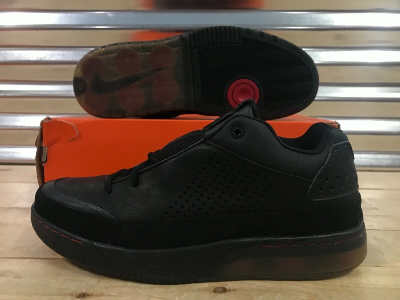 Nike Shox Spotlight Low Retro 2007 2007 2007 scarpe nero Varsity rosso SZ 11 ( 316531-001 ) 213f3a