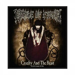 CRADLE-OF-FILTH-Patch-Aufnaeher-Cruelty-and-the-beast-10x10cm