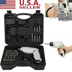 47pcs-Rechargeable-Wireless-Cordless-Electric-Screwdriver-Drill-Kit-Power-Tool