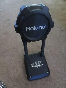 roland kd 9 v kick bass drum trigger pad kd9 ebay. Black Bedroom Furniture Sets. Home Design Ideas
